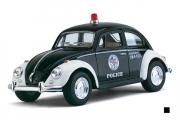 Volkswagen Classical Beetle Police 1967, черный/белый (1/32)
