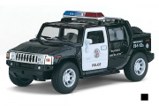 Hummer H2 SUT Polise 2005, черный/белый (1/40)