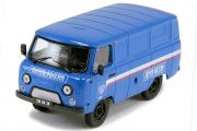 УАЗ-3741 фургон 'Почта России', синий (1/43)