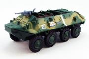 БТР-60П №157, зеленый/песочный камуфляж (1/72)