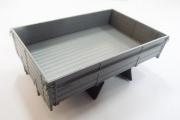 Платформа грузовая ЗИЛ-164, серый с брызговиками (1/43)