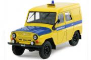 УАЗ-469 ППС, желтый/синий (1/43)