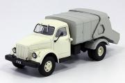 Горький-51А (93М) Вывоз мусора, бежевый/серый (1/43)