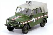 УАЗ-469 Войсковая коммендатура, хаки (1/43)