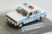 ВАЗ-2106 Милиция, белый/синий (1/43)