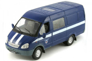 Горький-2705 'Газель' фургон Спецсвязь, синий. Без блистера (1/43)