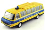 ЗИЛ-118КЛ Криминальная лаборатория, желтый/синий (1/43)