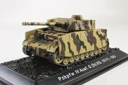 Танк Pz.Kpfw. IV Ausf. G (Sd.Kfz. 161/1) - 1943 (1/72)