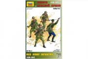 Солдаты Пехота Красной Армии №1 (1/35)