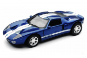 Ford GT, синий/белый (1/32)
