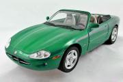 Jaguar XK8 1998, зеленый (1/32)