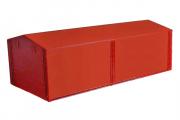 Тент Камаз-43105, 5320, красный (1/43)