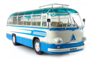 Автобус ЛАЗ-695Б туристический 'Комета', голубой/белый (1/43)