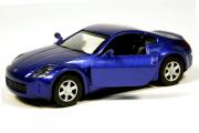 Nissan 350Z, синий (1/32)