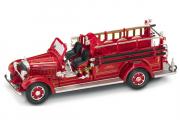 Mack Type 75BX пожарный 1935, красный (1/43)