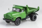 ЗИЛ-ММЗ-555 самосвал (поздний) 1979, зеленый (1/43)
