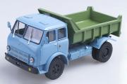 МАЗ-503А самосвал 1970, голубой/зеленый