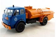 МАЗ-5334 топливозаправщик, синий/оранжевый (1/43)