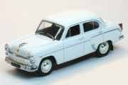 Москвич-403, белый (1/43)