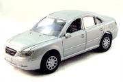 Hyundai Sonata V, серебристый (1/32)