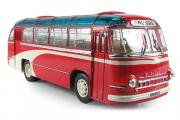 Автобус ЛАЗ-695 городской 'Фестивальный', красный (1/43)