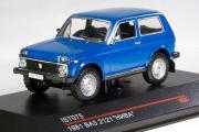 ВАЗ-2121 'Нива' 1981, синий (1/43)