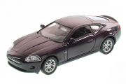 Jaguar XK Coupe, вишневый (1/34)