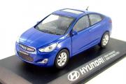 Hyundai Solaris (Accent), синий (1/38)