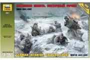 Солдаты Немецкая пехота. Восточный фронт 1941-1942 (1/35)