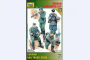 Солдаты Экипаж немецкого БТР (1/35)
