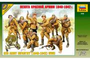Солдаты Пехота Красной Армии 1940-1942 (1/35)