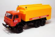 Камаз-4310 с кунгом Аварийный, оранжевый/желтый (1/43)
