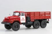 ЗИЛ-131 бортовой Пожарный, ПЧ-14 Ярославль, красный/белый (1/43)