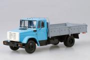 ЗИЛ-4331 бортовой, голубой/серый (1/43)
