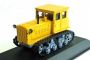 Трактор ДТ-54 гусеничный 1949, желтый (1/43)