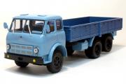 МАЗ-516А бортовой 1971, голубой/синий (1/43)
