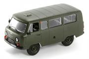 УАЗ-452 автобус, хаки (Польская серия), (1/43)