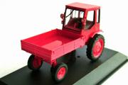 Трактор Т-16 1961, красный (1/43)