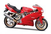 Мотоцикл Ducati Supersport 900, красный (1/18)
