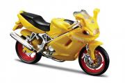 Мотоцикл Ducati ST4s, желтый (1/18)