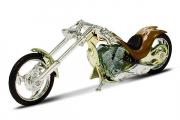Мотоцикл Chopper Custom gold (1/18)