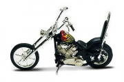 Мотоцикл Chopper Classic black (1/18)