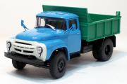 ЗИЛ-ММЗ-4502 самосвал, голубой/зеленый (1/43)