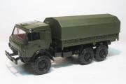 КАМАЗ-43101-028 бортовой с тентом, хаки (1/43)
