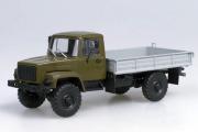 Горький-3308 бортовой, хаки/серый (1/43)