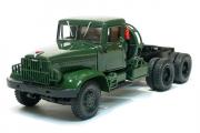 КрАЗ-221Б седельный тягач 1963, зеленый (1/43)