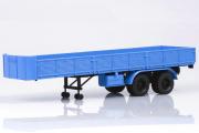 Полуприцеп МАЗ-5205 двухосный, синий (1/43)