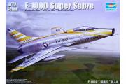 Самолет F-100D Super Sabre (1/72)