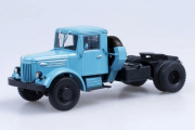 МАЗ-200В седельный тягач, голубой (1/43)
