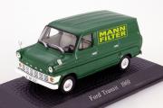 Ford Transit фургон 1969, зеленый